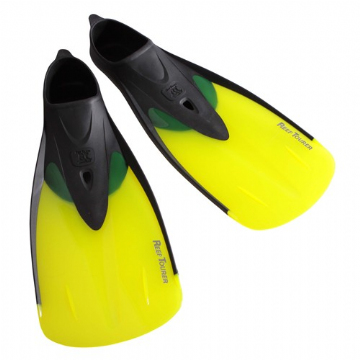 Junior Tusa RF-12 Full Foot Snorkeling Fin Trans Yellow